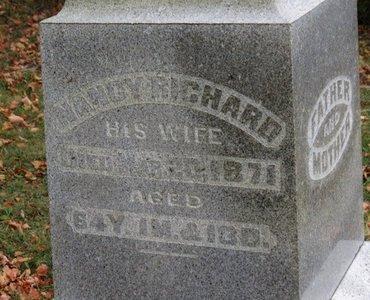 RICHARD, NANCY - Ashland County, Ohio   NANCY RICHARD - Ohio Gravestone Photos
