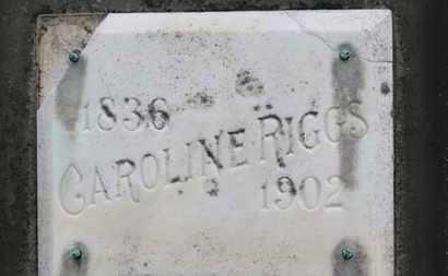 RIGGS, CAROLINE - Ashland County, Ohio   CAROLINE RIGGS - Ohio Gravestone Photos