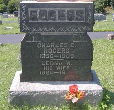 DICKSON ROGERS, LEONA - Ashland County, Ohio | LEONA DICKSON ROGERS - Ohio Gravestone Photos