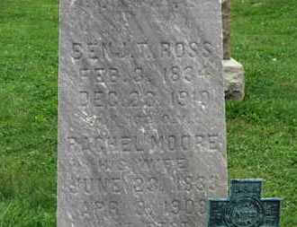 MOORE ROSS, RACHEL - Ashland County, Ohio | RACHEL MOORE ROSS - Ohio Gravestone Photos