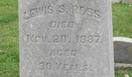 ROSS, LEWIS S. - Ashland County, Ohio | LEWIS S. ROSS - Ohio Gravestone Photos