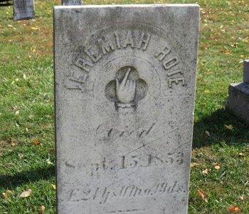 ROTE, JEREMIAH - Ashland County, Ohio | JEREMIAH ROTE - Ohio Gravestone Photos