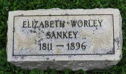 WORLEY SANKEY, ELIZABETH - Ashland County, Ohio | ELIZABETH WORLEY SANKEY - Ohio Gravestone Photos