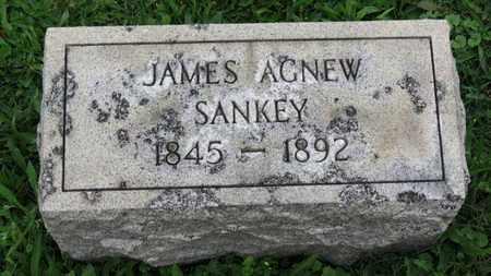 SANKEY, JAMES AGNEW - Ashland County, Ohio | JAMES AGNEW SANKEY - Ohio Gravestone Photos