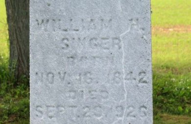 SINGER, WILLIAM H. - Ashland County, Ohio | WILLIAM H. SINGER - Ohio Gravestone Photos