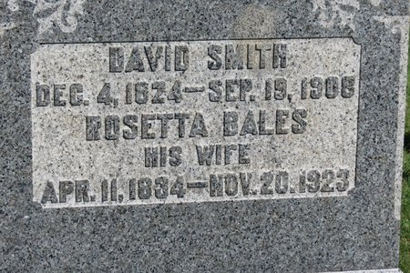 BALES SMITH, ROSETTA - Ashland County, Ohio | ROSETTA BALES SMITH - Ohio Gravestone Photos