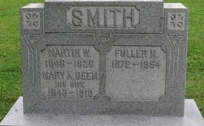 SMITH, MARTIN W. - Ashland County, Ohio | MARTIN W. SMITH - Ohio Gravestone Photos