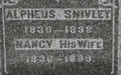 SNIVELY, ALPHEUS - Ashland County, Ohio | ALPHEUS SNIVELY - Ohio Gravestone Photos