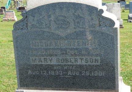 ROBERTSON STENTZ, MARY - Ashland County, Ohio | MARY ROBERTSON STENTZ - Ohio Gravestone Photos