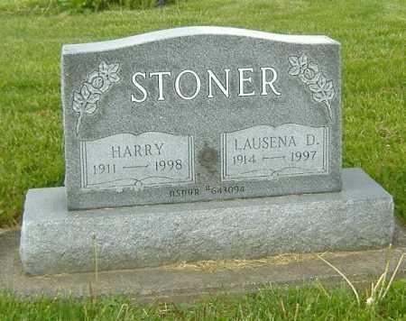 JONES STONER, LAUSENA DONALDSON - Ashland County, Ohio | LAUSENA DONALDSON JONES STONER - Ohio Gravestone Photos