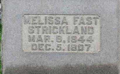 STRICKLAND, MELISSA - Ashland County, Ohio | MELISSA STRICKLAND - Ohio Gravestone Photos