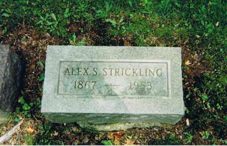 STRICKLING, ALEXANDER SWEENEY - Ashland County, Ohio   ALEXANDER SWEENEY STRICKLING - Ohio Gravestone Photos