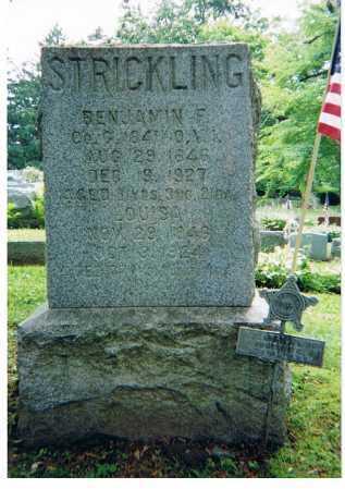 STRICKLING, LOUISE - Ashland County, Ohio   LOUISE STRICKLING - Ohio Gravestone Photos