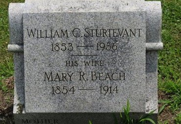 BEACH STURTEVANT, MARY R. - Ashland County, Ohio | MARY R. BEACH STURTEVANT - Ohio Gravestone Photos