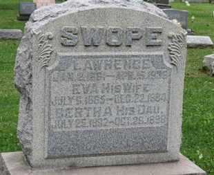 SWOPE, LAWRENCE - Ashland County, Ohio | LAWRENCE SWOPE - Ohio Gravestone Photos