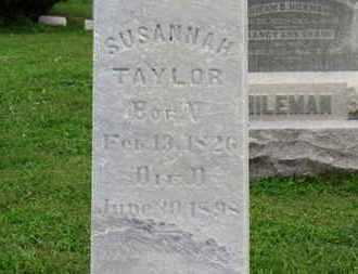 TAYLOR, SUSANNAH - Ashland County, Ohio | SUSANNAH TAYLOR - Ohio Gravestone Photos