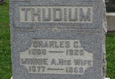 THUDIUM, CHARLES C. - Ashland County, Ohio | CHARLES C. THUDIUM - Ohio Gravestone Photos
