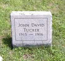 TUCKER, JOHN DAVID - Ashland County, Ohio | JOHN DAVID TUCKER - Ohio Gravestone Photos