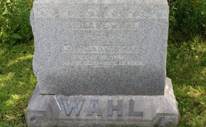 HINEMAN WAHL, JUSTINA D. - Ashland County, Ohio | JUSTINA D. HINEMAN WAHL - Ohio Gravestone Photos