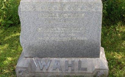 HINEMAN WAHL, JUSTINA D. - Ashland County, Ohio | JUSTINA D. HINEMAN WAHL - Ohio Gravestone Photos