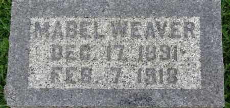 WEAVER, MABEL - Ashland County, Ohio   MABEL WEAVER - Ohio Gravestone Photos