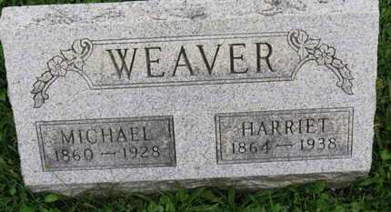 WEAVER, HARRIET - Ashland County, Ohio | HARRIET WEAVER - Ohio Gravestone Photos
