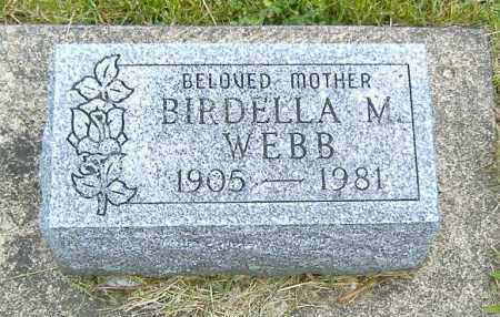WEBB, BIRDELLA M. - Ashland County, Ohio | BIRDELLA M. WEBB - Ohio Gravestone Photos