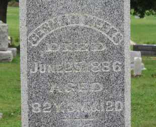 WEEKS, GERMAN - Ashland County, Ohio | GERMAN WEEKS - Ohio Gravestone Photos