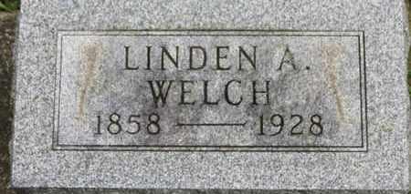 WELCH, LINDEN A. - Ashland County, Ohio | LINDEN A. WELCH - Ohio Gravestone Photos