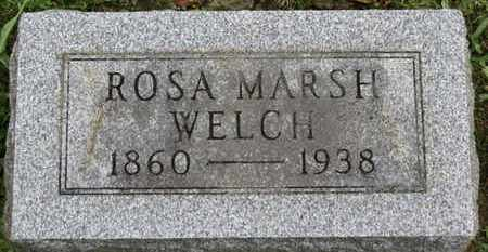 MARSH WELCH, ROSA - Ashland County, Ohio | ROSA MARSH WELCH - Ohio Gravestone Photos
