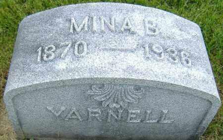COULTER YARNELL, MINA B. - Ashland County, Ohio   MINA B. COULTER YARNELL - Ohio Gravestone Photos
