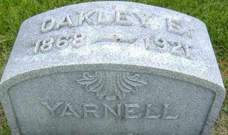 YARNELL, OAKLEY EBERHART - Ashland County, Ohio   OAKLEY EBERHART YARNELL - Ohio Gravestone Photos