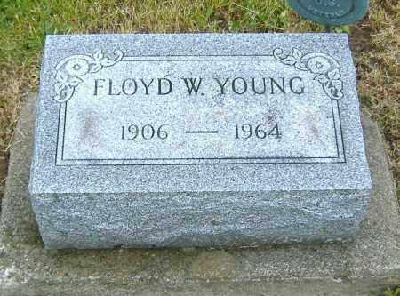 YOUNG, FLOYD W. - Ashland County, Ohio | FLOYD W. YOUNG - Ohio Gravestone Photos
