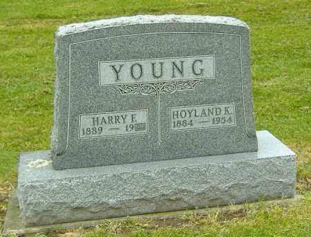 YOUNG, HOYLAND K. - Ashland County, Ohio | HOYLAND K. YOUNG - Ohio Gravestone Photos