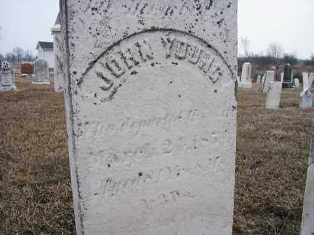 YOUNG, JOHN - Ashland County, Ohio   JOHN YOUNG - Ohio Gravestone Photos