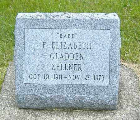 ZELLNER, FRANCES ELIZABETH - Ashland County, Ohio | FRANCES ELIZABETH ZELLNER - Ohio Gravestone Photos