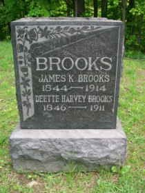 HARVEY BROOKS, DEETTE - Ashtabula County, Ohio | DEETTE HARVEY BROOKS - Ohio Gravestone Photos