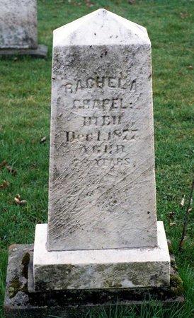 CHAPEL, RACHEL A. - Ashtabula County, Ohio | RACHEL A. CHAPEL - Ohio Gravestone Photos