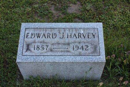 HARVEY, EDWARD J. - Ashtabula County, Ohio   EDWARD J. HARVEY - Ohio Gravestone Photos