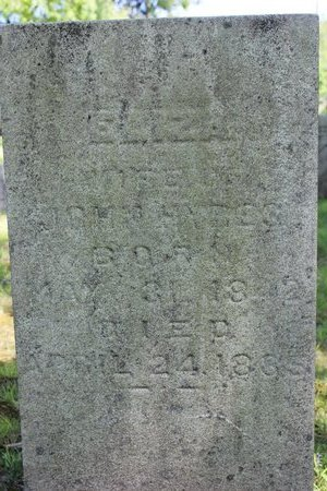 SHAW HYRES, ELIZA - Ashtabula County, Ohio | ELIZA SHAW HYRES - Ohio Gravestone Photos