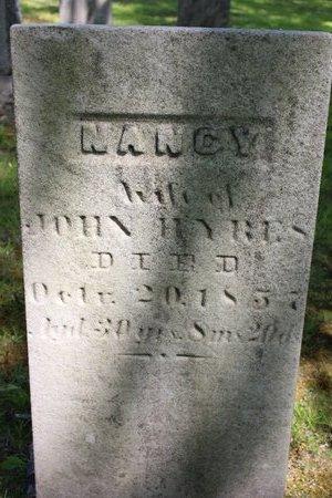 HYRES, NANCY - Ashtabula County, Ohio   NANCY HYRES - Ohio Gravestone Photos