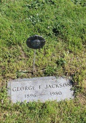 JACKSON, GEORGE FORD - Ashtabula County, Ohio | GEORGE FORD JACKSON - Ohio Gravestone Photos