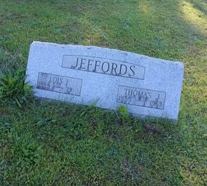 HARVEY JEFFORDS, LOIS F. - Ashtabula County, Ohio | LOIS F. HARVEY JEFFORDS - Ohio Gravestone Photos