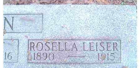 LEISER, CECELIA ROSELLA - Ashtabula County, Ohio | CECELIA ROSELLA LEISER - Ohio Gravestone Photos