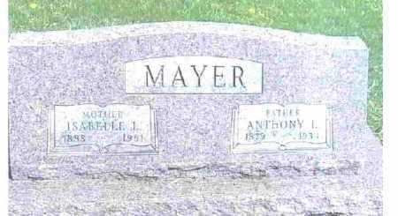 MAYER, ANTHONY L. - Ashtabula County, Ohio | ANTHONY L. MAYER - Ohio Gravestone Photos