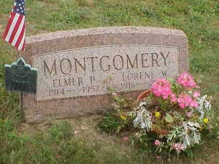 MONTGOMERY, ELMER P - Ashtabula County, Ohio   ELMER P MONTGOMERY - Ohio Gravestone Photos