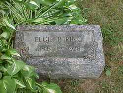 RING, ELGIE PAULINE - Ashtabula County, Ohio   ELGIE PAULINE RING - Ohio Gravestone Photos