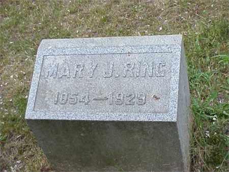 TITUS RING, MARY JANE - Ashtabula County, Ohio | MARY JANE TITUS RING - Ohio Gravestone Photos