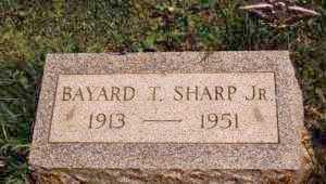 SHARP, BAYARD TAYLOR JR. - Ashtabula County, Ohio   BAYARD TAYLOR JR. SHARP - Ohio Gravestone Photos