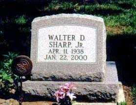 SHARP, WALTER D. JR. - Ashtabula County, Ohio | WALTER D. JR. SHARP - Ohio Gravestone Photos